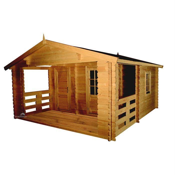 Chalet jardin bois avec terrasse 21 5 m² Achat Vente