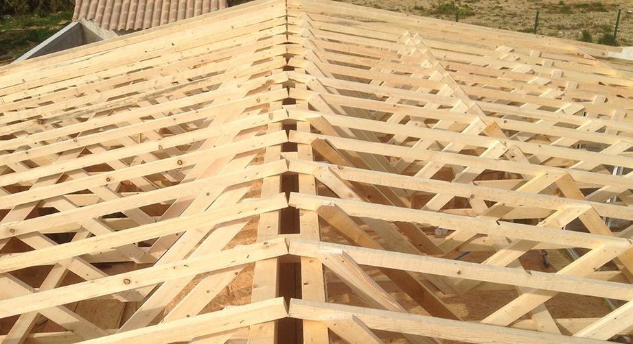 charpente industrielle toit plat