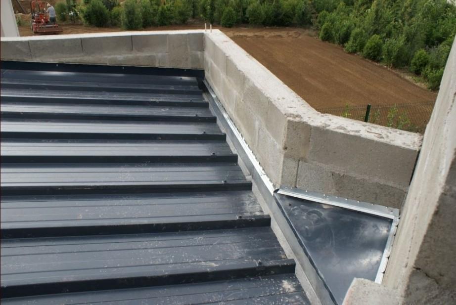 Couverture toit plat