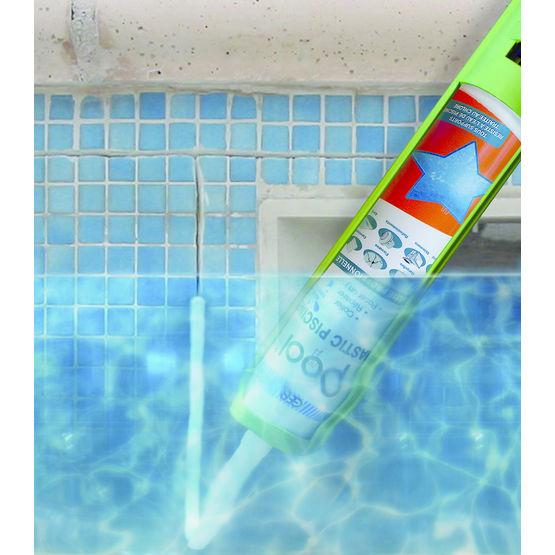 Mastic pour piscine applicable sous l eau