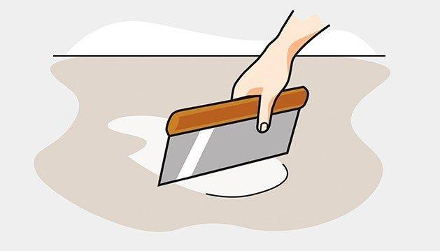 Coller un revêtement PVC sur carrelage
