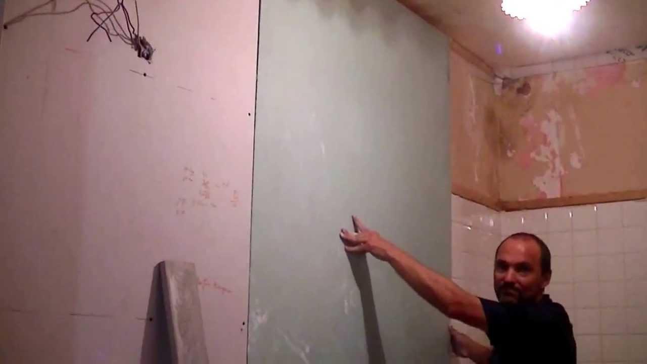 ment poser du placo collé au mur