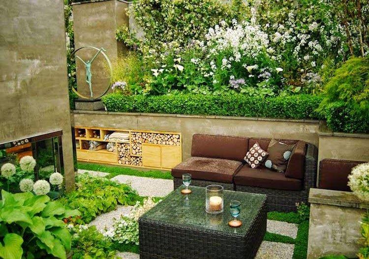 ment aménager le petit jardin 18 idées inspirantes