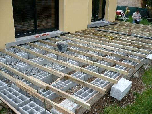 Faire Une Terrasse Bois Construire Une Terrasse En Bois