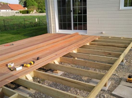 ment construire terrasse bois La réponse est sur