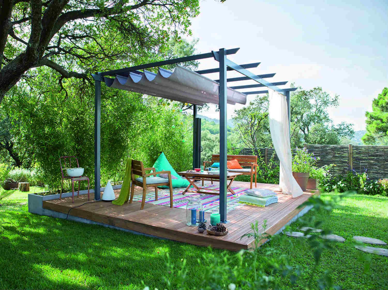 ment créer une terrasse bois en pente