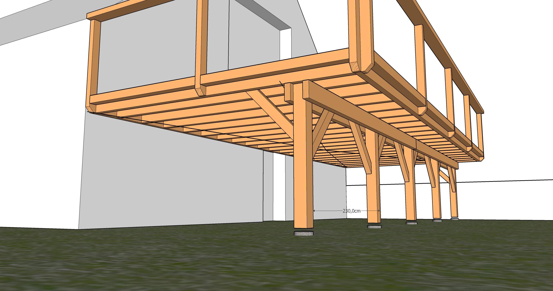 Comment Fabriquer Une Terrasse En Beton comment construire une terrasse en bois homeliving ment