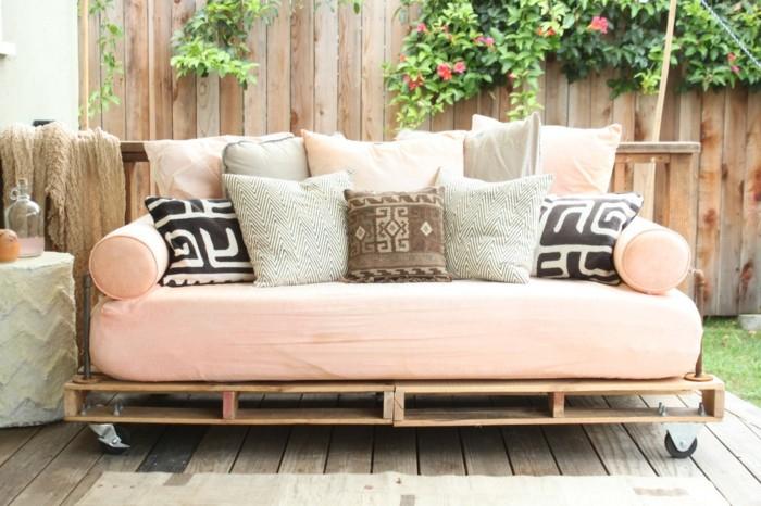 Comment Faire Un Canapé En Palette Ment Fabriquer Un Canapé En Palette Tuto Et 60 Super