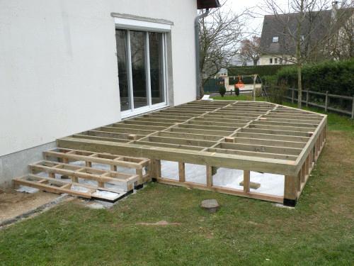 Comment faire une terrasse en bois des id es idees - Comment realiser une terrasse en bois ...
