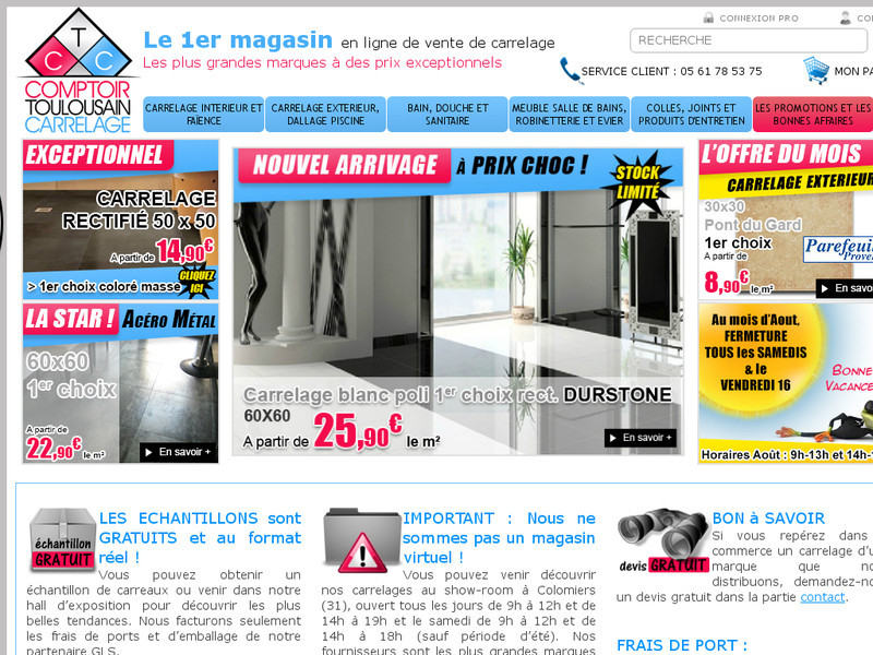 Information about ptoir toulousain carrelage