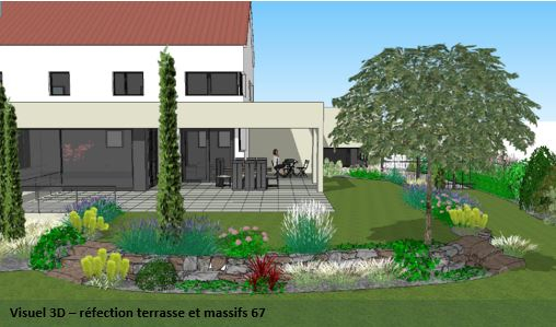 Conception de Jardin Concepteur Jardin Espaces Paysagers
