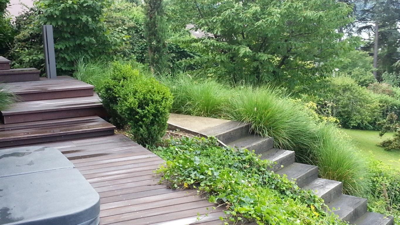 Conception de jardins à Genève Jardin contemporain à Genève