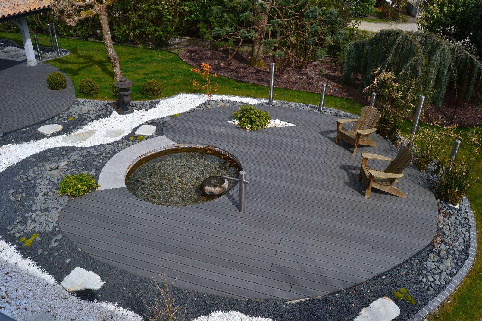 Conception et aménagement d un jardin zen par un