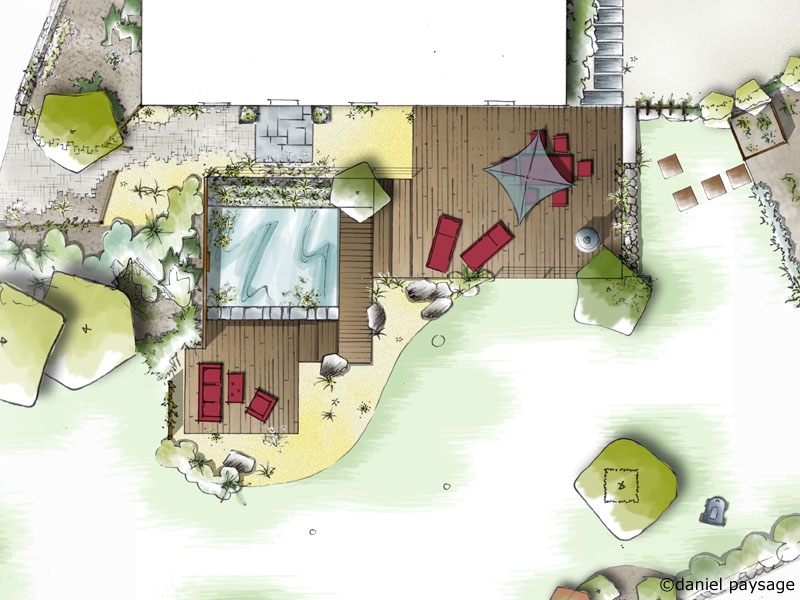 Daniel Paysage paysagiste spécialisé en conception de jardins