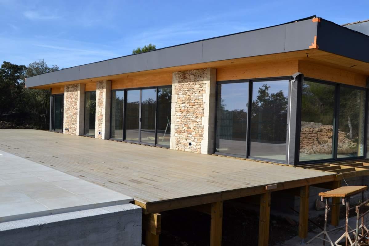 Constructeur Maison toit Plat Cuisine Créateur Et Fabricant De Maison Moderne