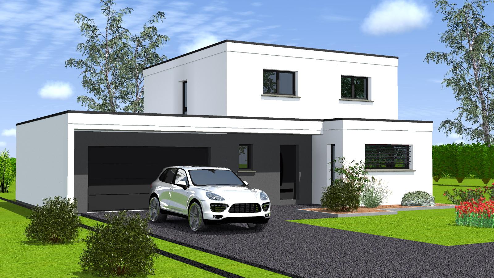 Constructeur Maison toit Plat Maison Moderne toit Plat Wgx25 Napanonprofits - Idees Conception ...