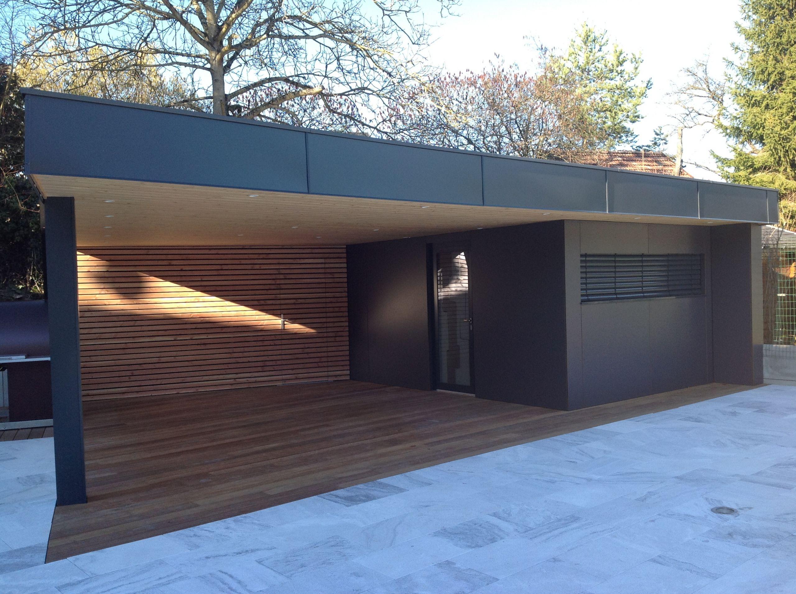 Construction Garage toit Plat Construire Garage Bois toit Plat