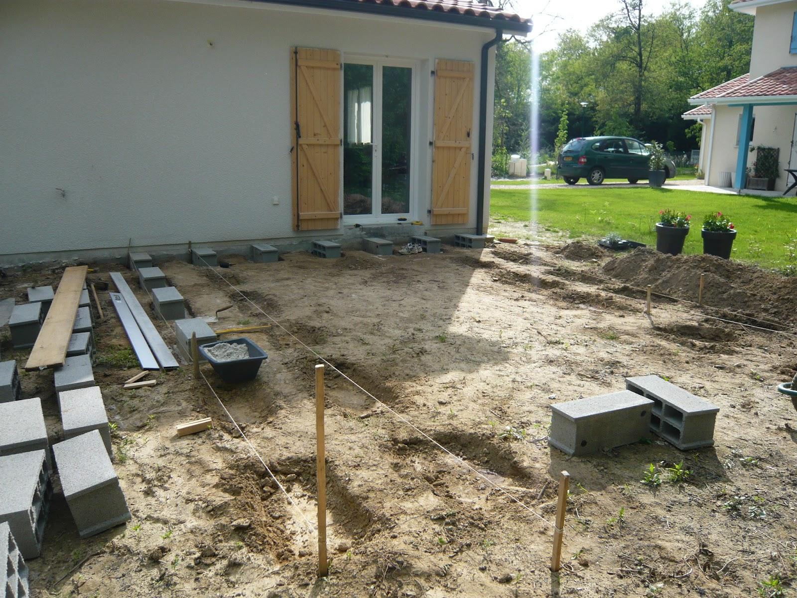 Construire Une Terrasse En Bois Surelevee construction terrasse bois construction terrasse bois