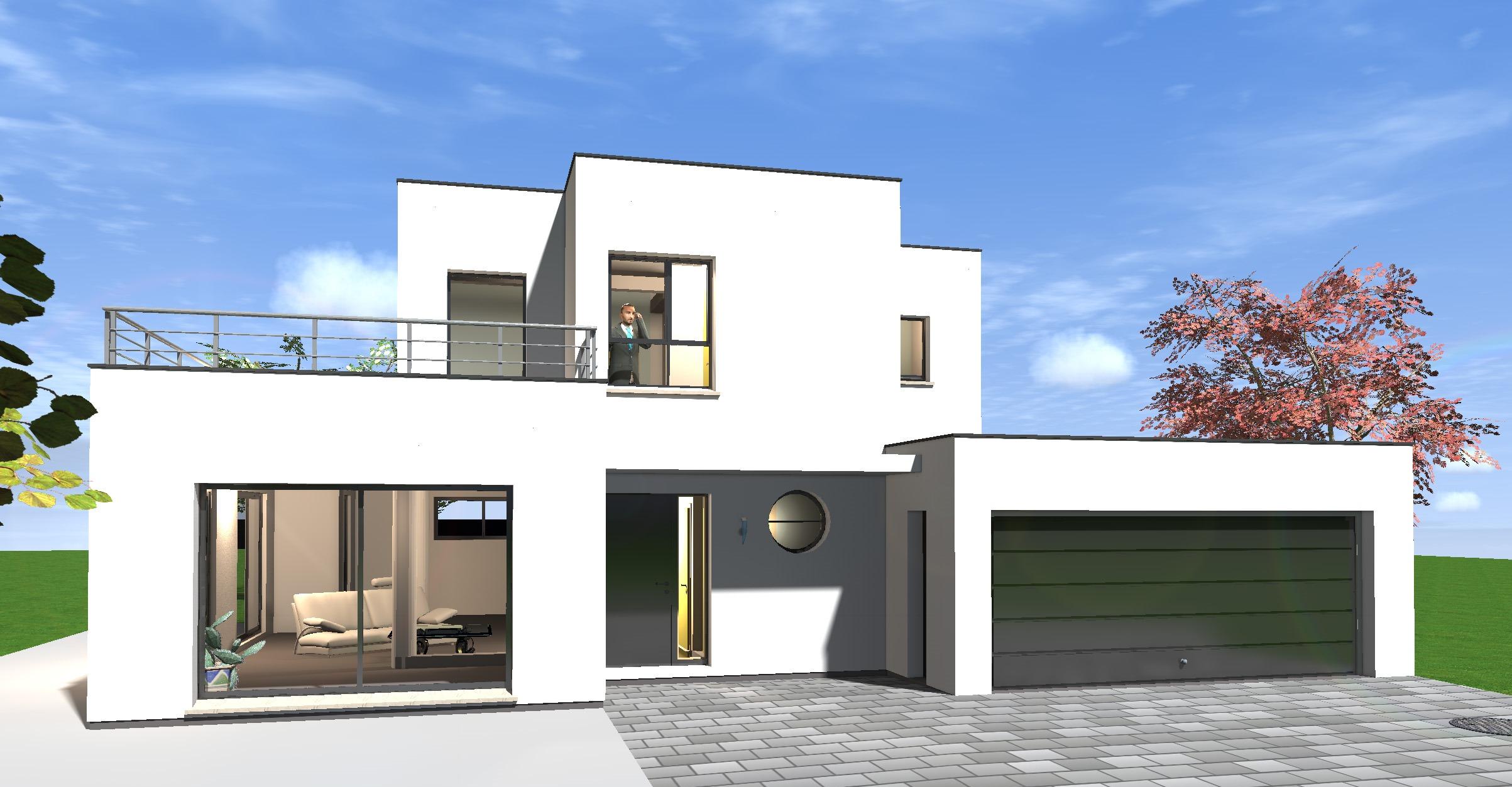 Construction Toit Plat Prix Construction Maison Contemporaine Toit Plat Idees Conception Jardin Idees Conception Jardin