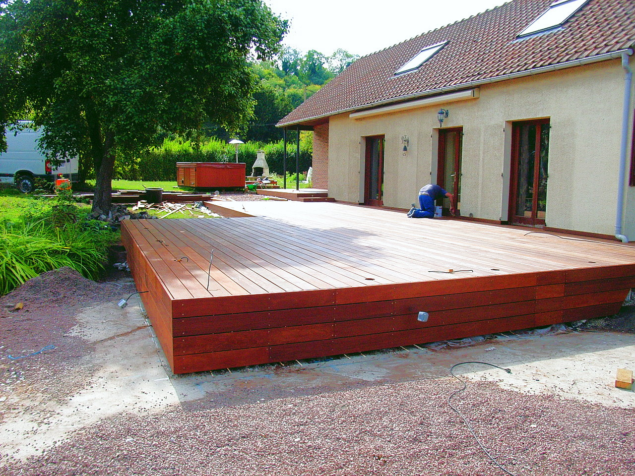 Homeliving ment construire une terrasse en bois