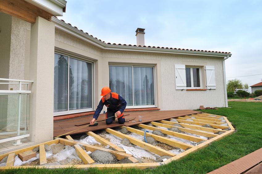Les réglementations pour construire une terrasse
