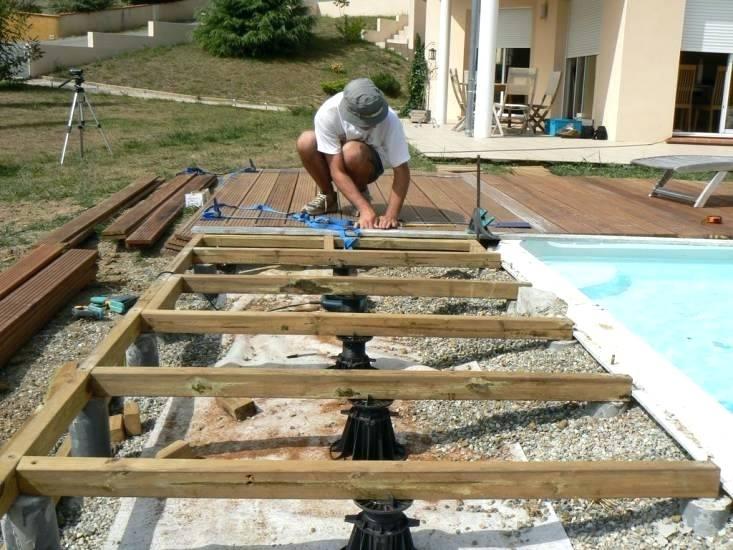 Realiser Sa Terrasse En Bois Construire Sacduisant Soi