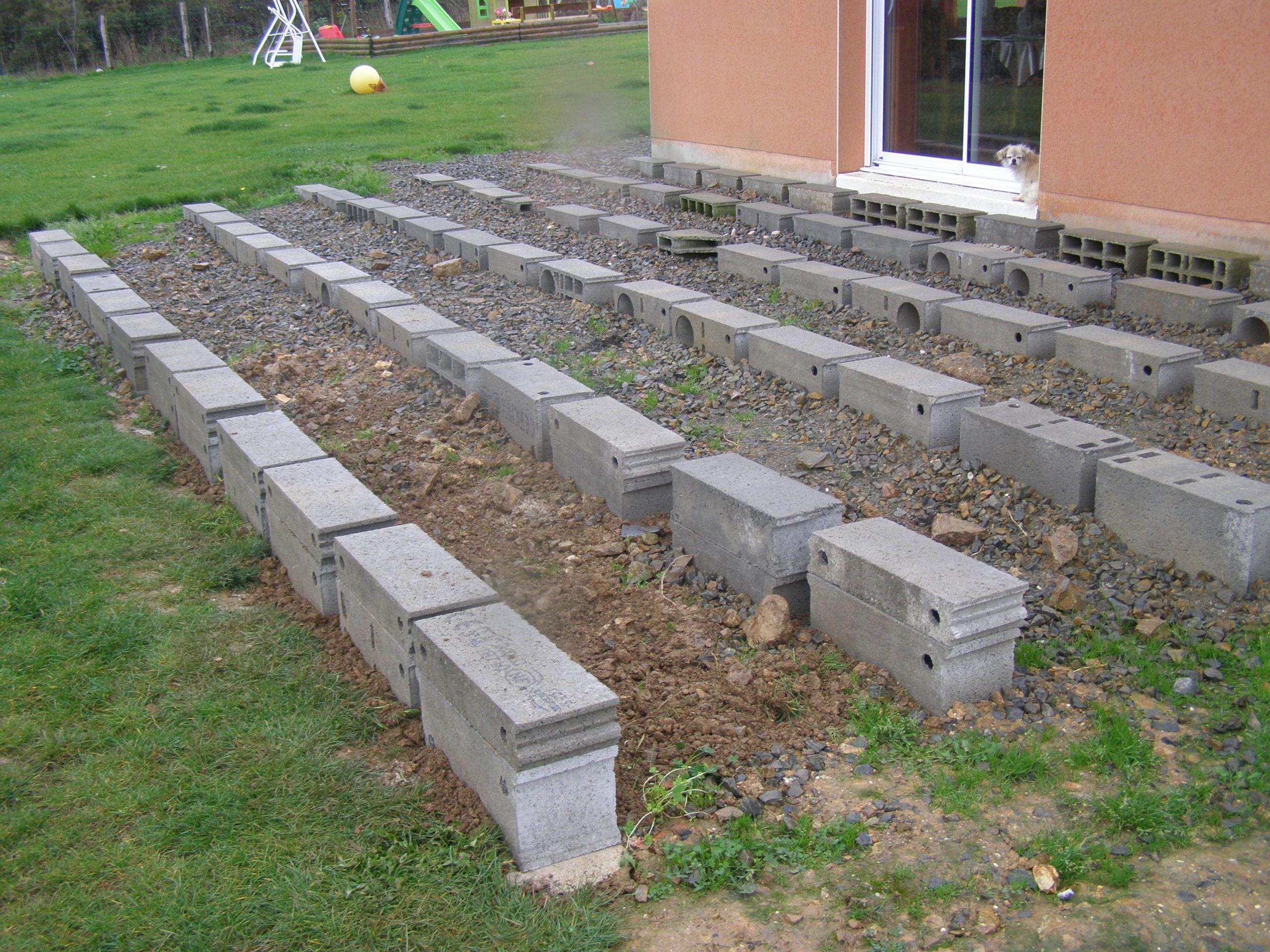 Construire Terrasse En Bois construire terrasse en bois terrasse posite sur lambourde