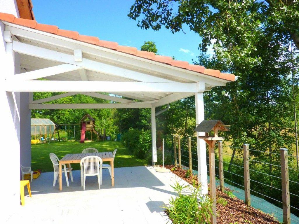 Construire Une Pergola Couverte Construire Terrasse Couverte Maison