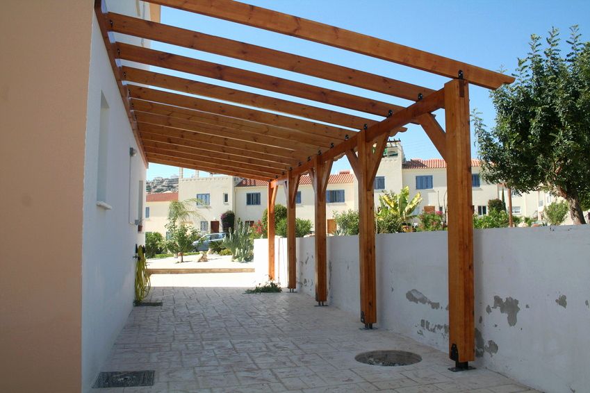 Construire Une Pergola Couverte Beau Terrasse Couverte