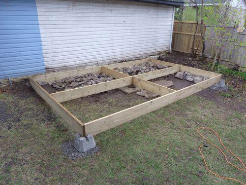 construire terrasse bois