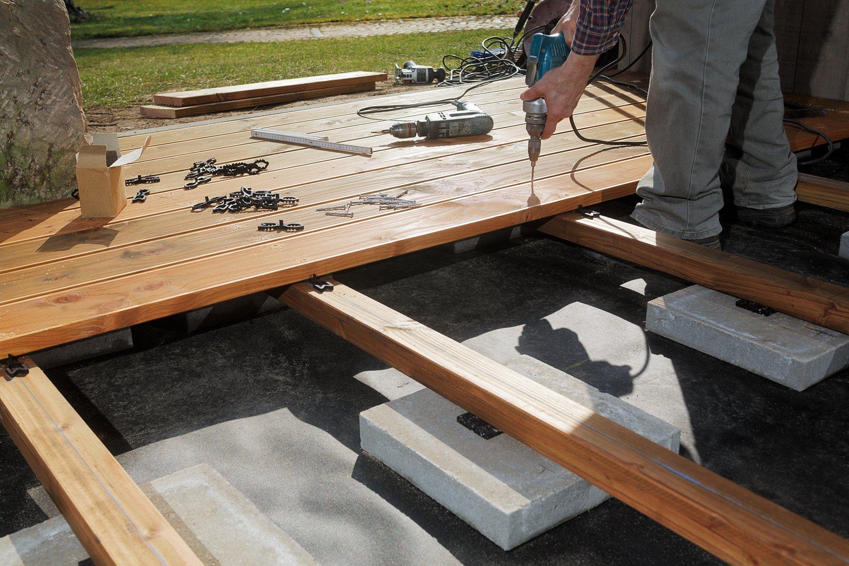 Construire une terrasse en bois toutes les étapes