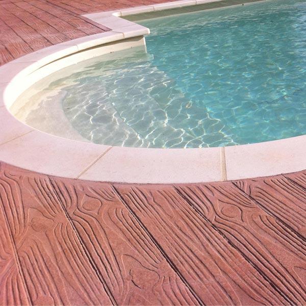 Utiliser le béton décoratif pour réaliser vos contours de
