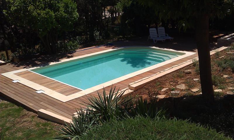 Contour de piscine en bois ipe a calas en 2011 Les