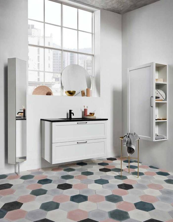 Idée décoration Salle de bain Couleur salle de bains