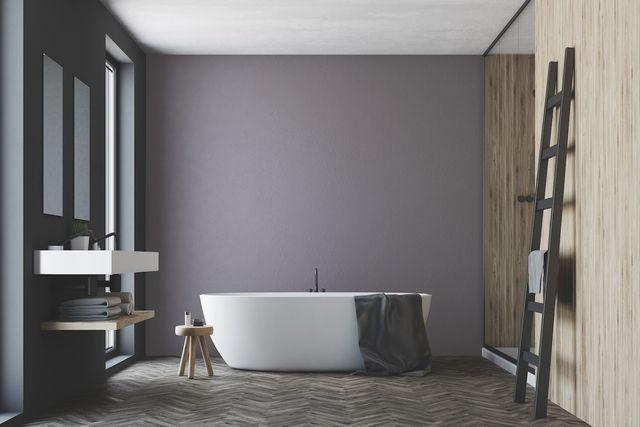 Peinture salle de bain les couleurs tendance Côté Maison
