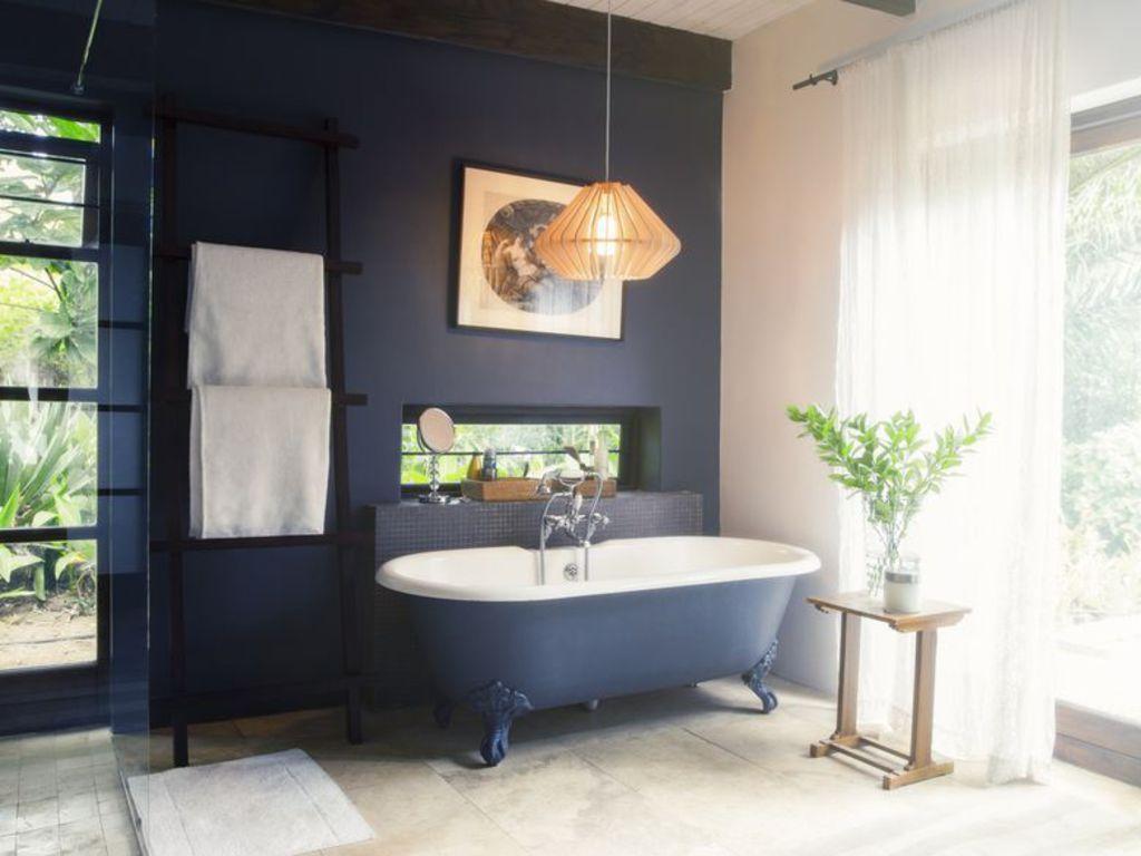 Quelles couleurs dans une salle de bains Grazia