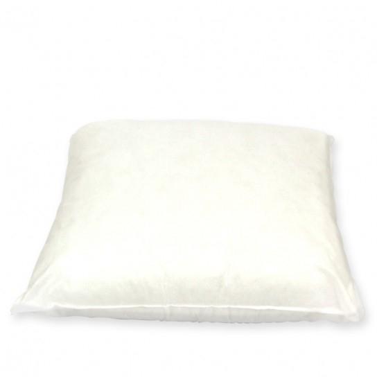 Coussin de rembourrage carré blanc 40 x 40 cm