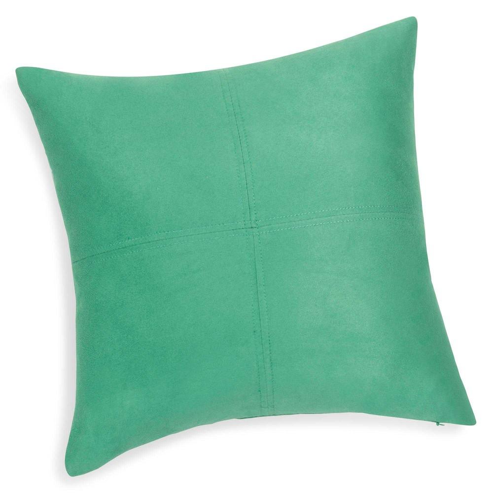 Coussin vert 40 x 40 cm SWEDINE