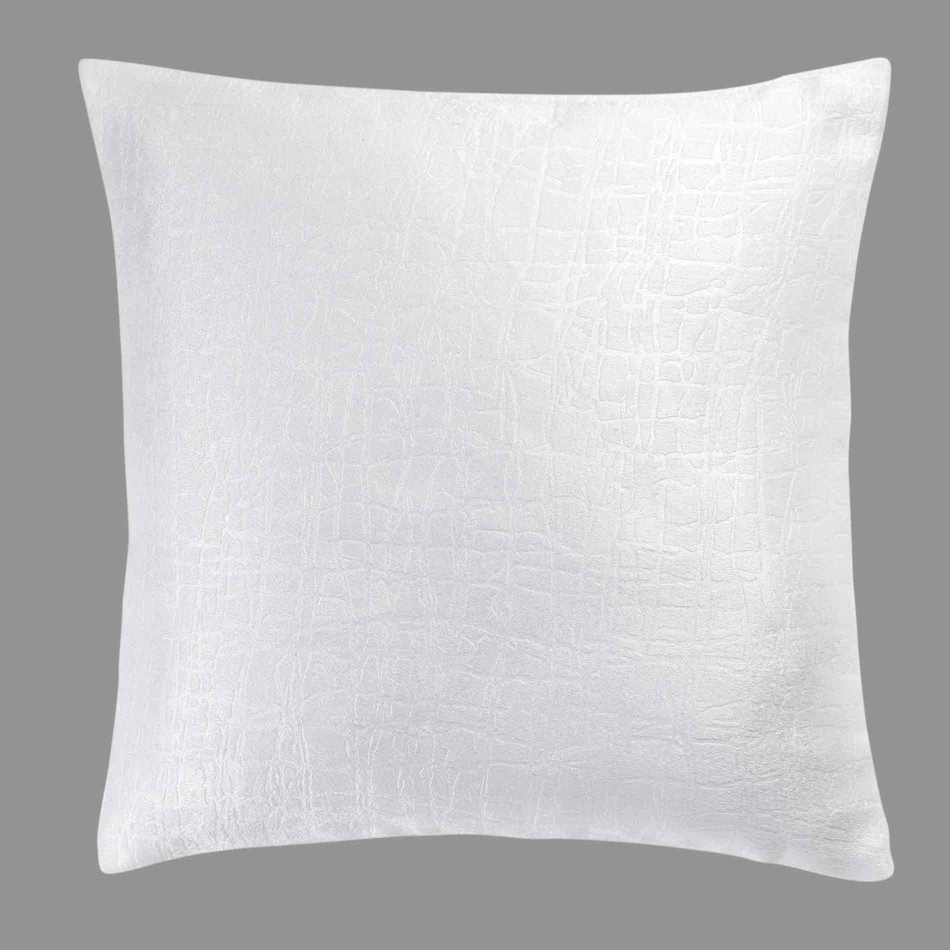 Housse de coussin 40 cm Opacia Blanc Coussin et