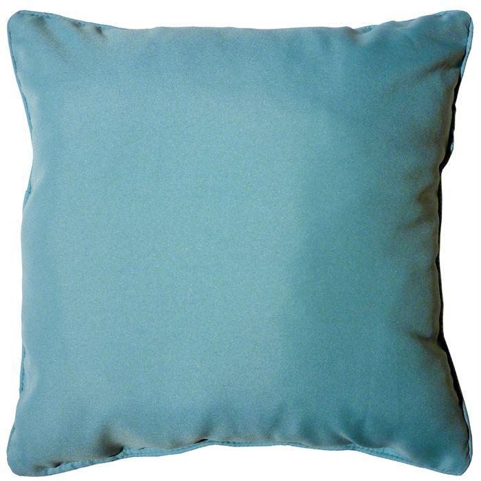 Coussin Bleu Turquoise Schème