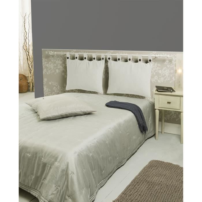 Tête de lit déhoussable ivoire 50x70cm Achat Vente