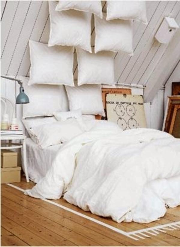 La tête de lit en coussin Archzine