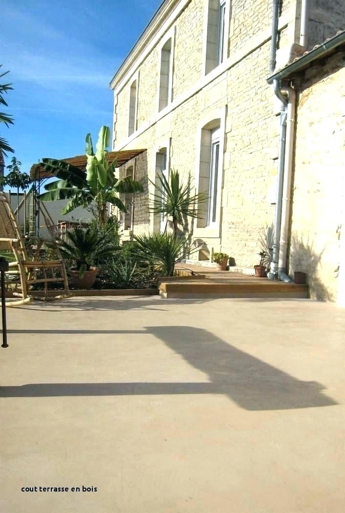 cout terrasse beton