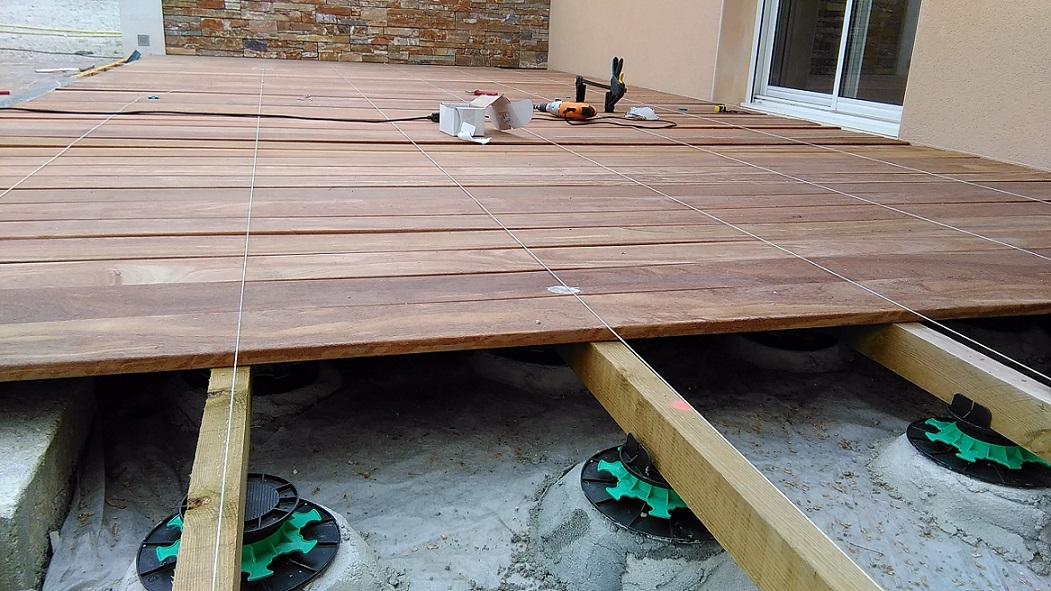 Coût terrasse bois sur graviers 15 messages