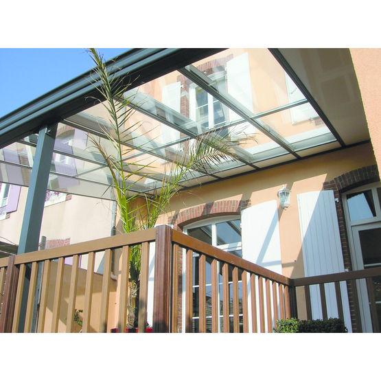Préau ouvert pour couverture de terrasse
