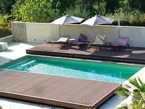 Une terrasse mobile pour couvrir votre piscine