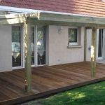 Couverture Terrasse Bois Abri De Terrasse Retractable – Inspiration De Décoration