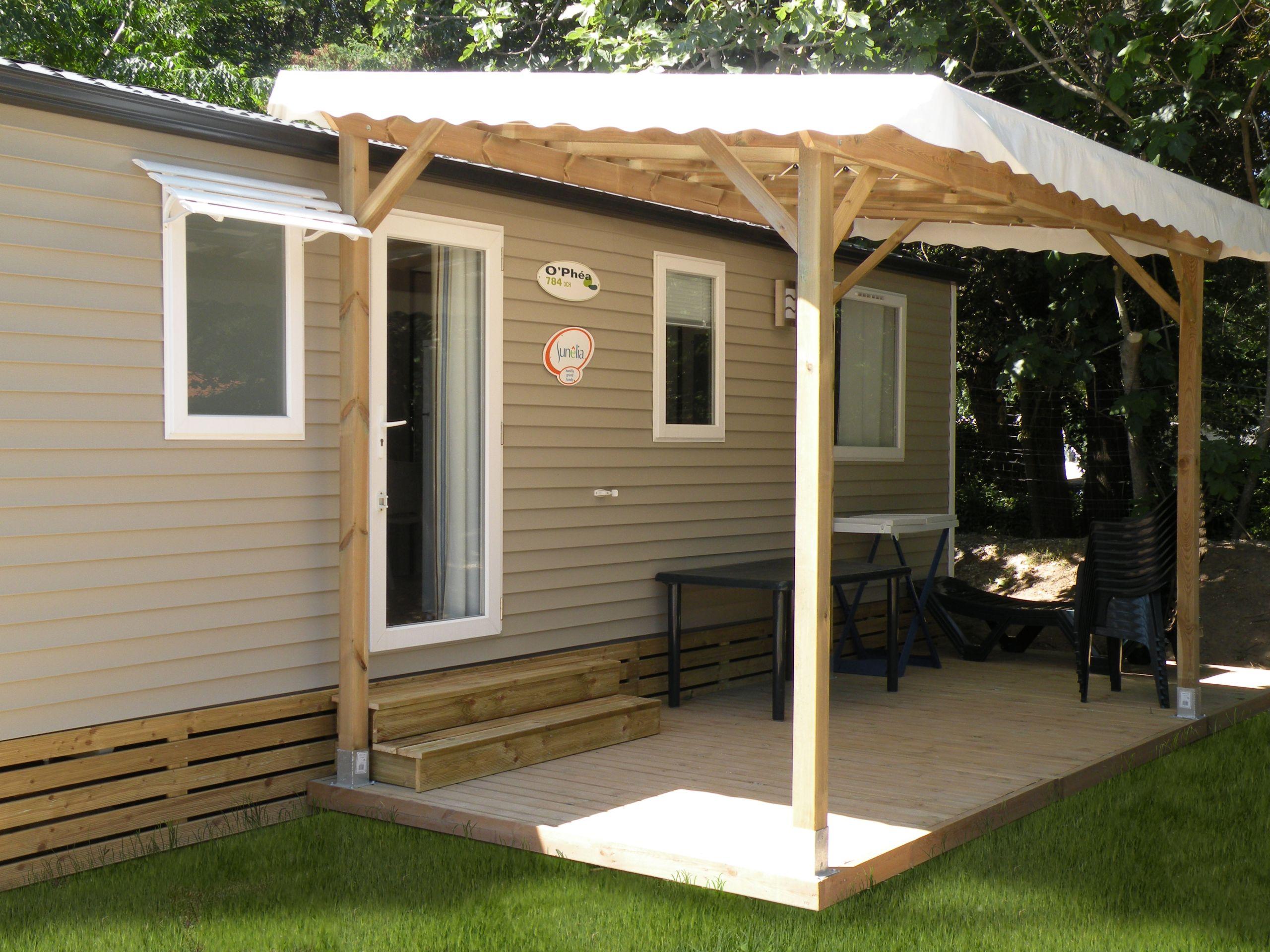 Couverture Terrasse Bois Pergolas Terrasses Pour Mobil Homes