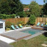 Couverture Terrasse Bois Rolling Deck La Couverture Terrasse Mobile De Piscine Et