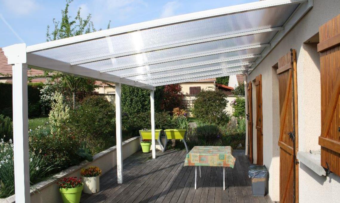 Couvrir Une Terrasse En Dur Accueil Pergola solution